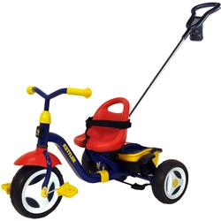 Kettler Happy Navigator Fly Tricycle With Push-Bar And Utility Net - Multi