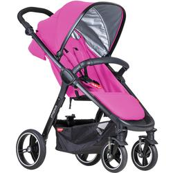 Phil & Teds  Smart Buggy Baby Stroller - Raspberry