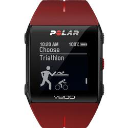 Polar 90060772 V800 Multisport GPS Sports Watch With Heart Rate Monitor - Red