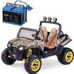 Peg Perego Polaris RZR 900 With 12 Volt Battery & Charger - Camo