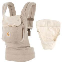 Ergo Baby Original Baby Carrier Bundle Of Joy In Natural Linen With