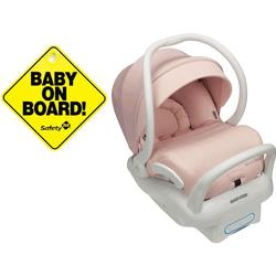 Maxi Cosi Pink Sweater Knit Mico Max 30 Special Edition Infant Car Seat With Free Baby On Board Sign Coupons And Discounts May Be Available