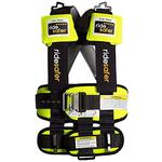 Safe Traffic Systems JD15101YWB - Ride Safer 3 Travel Vest, Small - Yellow