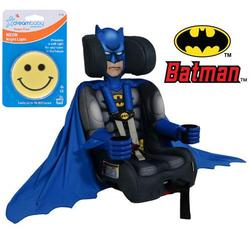 Kids Embrace Batman Friendship Combination Booster Car Seat with Night Light
