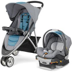 Chicco 06079747900 Viaro Stroller Travel System - Coastal
