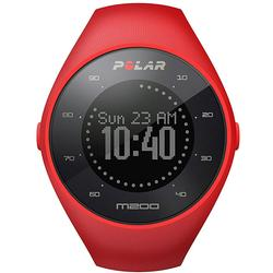 Polar 90061214 M200 GPS Running Watch with Wrist-Based Heart Rate - Red/Medium-Large