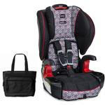 Britax E9LY78A - Frontier G1.1 ClickTight Harness-2-Booster Car Seat Baxter with Bonus Diaper Bag