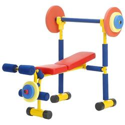 Redmon 9204 Fun and Fitness Exercise Equipment for Kids - Weight Bench Set