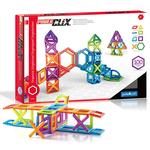 Guidecraft G9202 PowerClix Frames Magnetic Building Toys 100 Pc. Set
