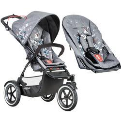Etonnant Phil U0026 Teds Sport Graffiti V5_79 Baby Infant Stroller With Doubles Seat Kit