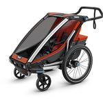 Thule 10202002 Chariot Cross 1 Multisport Trailer - Roarange/Dark Shadow