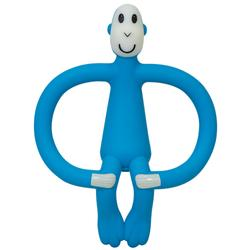 Matchstick Monkey Teether Toy - BLUE