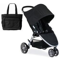 Britax B-Agile 3 Stroller with Diaper Bag  - Black