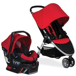 Britax S06020600 B-Agile 3 / B-Safe 35 Travel System - Red