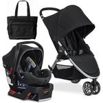 Britax - B-Agile 3/B-Safe 35 Elite Travel System with Diaper Bag  - Domino