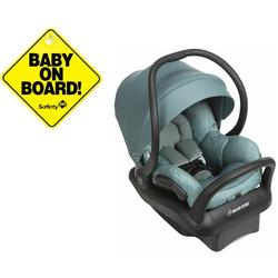 Maxi Cosi Ic302emp Mico Max 30 Infant Car Seat Nomad Green With Baby On Board Sign Coupons And Discounts May Be Available