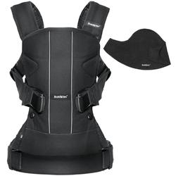 Baby Bjorn 693001US Baby Carrier One with Bib - Black