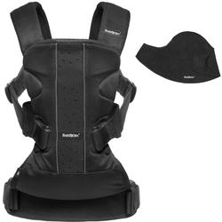 Baby Bjorn 693002US Baby Carrier One Air Mesh with Bib - Black