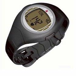 Polar F-4 Heart Rate Monitor, Black Amber