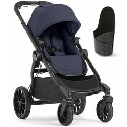 Baby Jogger City Select Lux Single Stroller - Indigo with Cup Holder