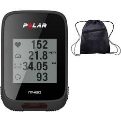 Polar M460 GPS Bike Computer with Heart Rate Monitor and Cinch Bag