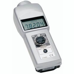 Shimpo DT-105A Contact Style Digital Handheld Tachometer, LCD, 6in wheel
