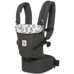 Ergo Baby BCAPEAGRPH 3 Position Adapt Baby Carrier - Graphic Grey