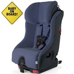 Foonf  by Clek -  Car Seat with Baby On Board Sign - Ink