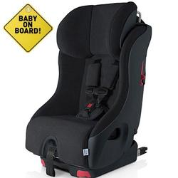 Foonf  by Clek -  Car Seat with Baby On Board Sign - Shadow