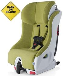 Foonf  by Clek -  Car Seat with Baby On Board Sign - Dragonfly