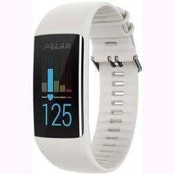 Polar 90064905 A370 Waterproof GPS Fitness Tracker with Wrist Based HR - White / Small