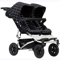 Mountain Buggy Duet V3_59 Double Buggy Stroller - Grid