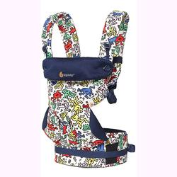 Ergo Baby BC360AKHWHT 4 Position 360 Keith Haring Carrier - Color Pop