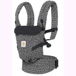 Ergo Baby BCAPEAKHWHT 3 Position Adapt Baby Keith Haring Carrier - Black