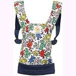 Ergo Baby DCAKHWHT Limited Edition Keith Haring Doll Carrier - Color Pop