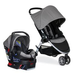 Britax S08365700 B-Agile 3 / B-Safe 35 Travel System - Steel