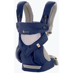 Ergo Baby BC360PNAVY - 4 Position 360 Cool Air Mesh Carrier - French Blue