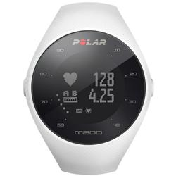 Polar 90067739 M200 GPS Running Watch with Wrist-Based Heart Rate - White/Medium-Large