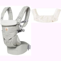 285dd8f5b5b Ergo Baby Omni 360 All-in-One Ergonomic Baby Carrier with Teething Pad and