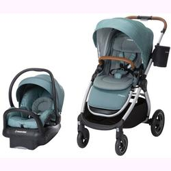 Maxi-Cosi TR391EMP Adorra Stroller Mico Max 30 Infant Car Seat Travel System - Nomad Green
