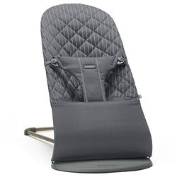 Baby Bjorn 006036US Bliss Bouncer Cotton - Gray/Pinstripe