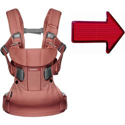 Baby Bjorn Baby Carrier One With Safety Reflector - Terracotta Pink