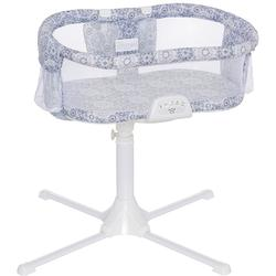 Halo - Swivel Sleeper Bassinet - Luxe Series - Blue Medallion