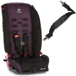 Diono Radian R100 Car Seat with Carrying Strap - Black Plum