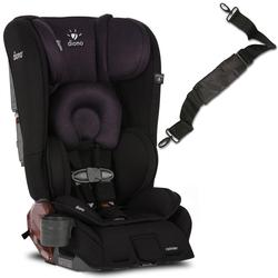 Diono Rainier Convertible Car Seat with Carry Strap - Black Plum