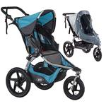 BOB Revolution FLEX Stroller - Lagoon with Weather Shield