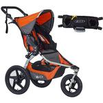 BOB Revolution FLEX Stroller - Canyon with Handlebar Console