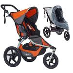 BOB Revolution FLEX Stroller - Canyon with Weather Shield