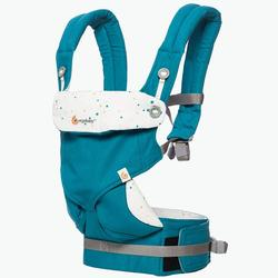Ergo Baby BC360AFESTY - 4 Position 360 Carrier - Festive Skies