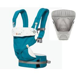 Ergo Baby 4 Position 360 Carrier - Festive Skies with Original Grey Infant Insert